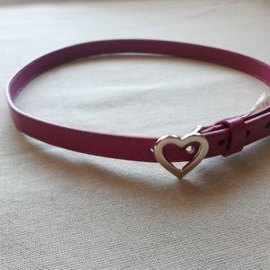 Gymboree Accessories - Gymboree Heart Buckle Belt